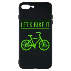 Чехол для iPhone 7 Plus Let's Bike It - FatLine