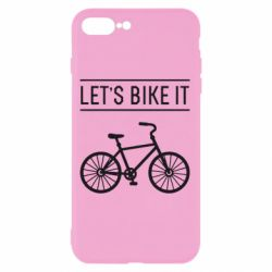 Чехол для iPhone 8 Plus Let's Bike It - FatLine