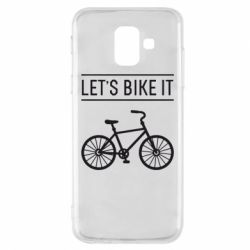 Чехол для Samsung A6 2018 Let's Bike It - FatLine