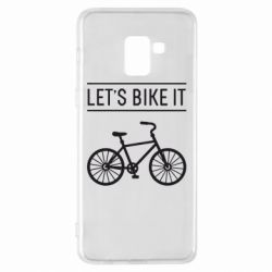 Чехол для Samsung A8+ 2018 Let's Bike It - FatLine