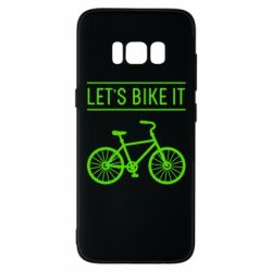 Чехол для Samsung S8 Let's Bike It - FatLine