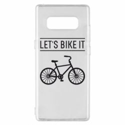 Чехол для Samsung Note 8 Let's Bike It - FatLine
