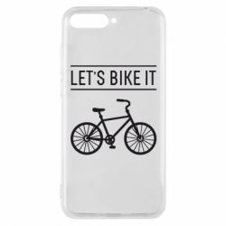 Чехол для Huawei Y6 2018 Let's Bike It - FatLine