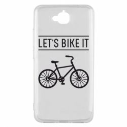 Чехол для Huawei Y6 Pro Let's Bike It - FatLine