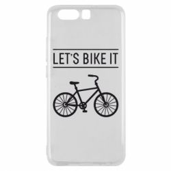 Чехол для Huawei P10 Let's Bike It - FatLine