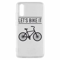 Чехол для Huawei P20 Let's Bike It - FatLine