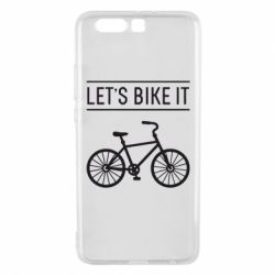 Чехол для Huawei P10 Plus Let's Bike It - FatLine