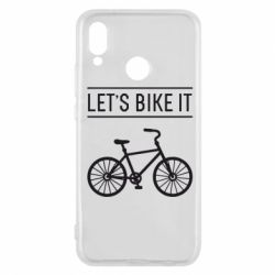 Чехол для Huawei P20 Lite Let's Bike It - FatLine