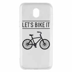 Чехол для Samsung J5 2017 Let's Bike It - FatLine