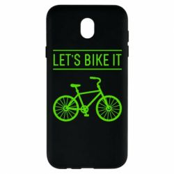 Чехол для Samsung J7 2017 Let's Bike It - FatLine