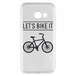 Чехол для Samsung A3 2017 Let's Bike It - FatLine