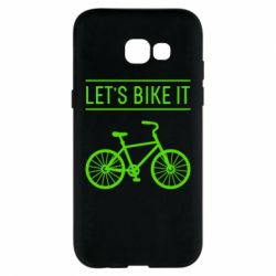 Чехол для Samsung A5 2017 Let's Bike It - FatLine