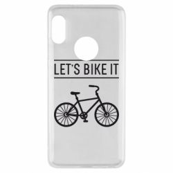 Чехол для Xiaomi Redmi Note 5 Let's Bike It - FatLine