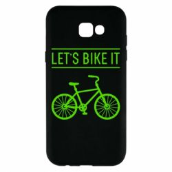 Чехол для Samsung A7 2017 Let's Bike It - FatLine