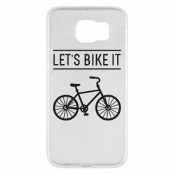 Чехол для Samsung S6 Let's Bike It - FatLine