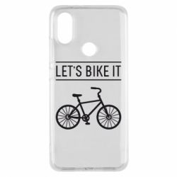Чехол для Xiaomi Mi A2 Let's Bike It - FatLine