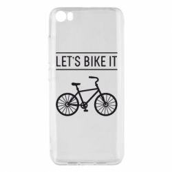 Чехол для Xiaomi Xiaomi Mi5/Mi5 Pro Let's Bike It - FatLine