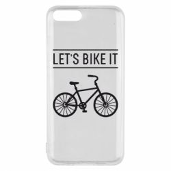 Чехол для Xiaomi Mi6 Let's Bike It - FatLine