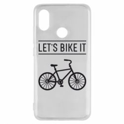Чехол для Xiaomi Mi8 Let's Bike It - FatLine