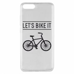 Чехол для Xiaomi Mi Note 3 Let's Bike It - FatLine