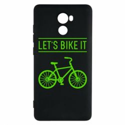Чехол для Xiaomi Redmi 4 Let's Bike It - FatLine