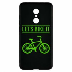 Чехол для Xiaomi Redmi 5 Let's Bike It - FatLine
