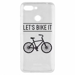 Чехол для Xiaomi Redmi 6 Let's Bike It - FatLine