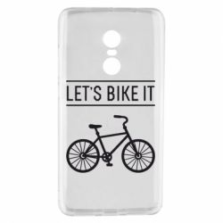 Чехол для Xiaomi Redmi Note 4 Let's Bike It - FatLine