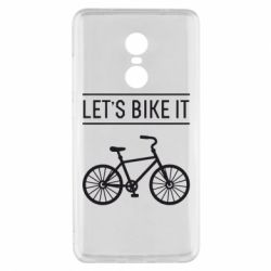 Чехол для Xiaomi Redmi Note 4x Let's Bike It - FatLine