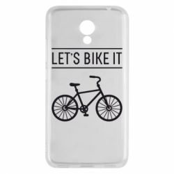 Чехол для Meizu M5c Let's Bike It - FatLine