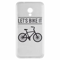 Чехол для Meizu M5s Let's Bike It - FatLine