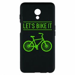 Чехол для Meizu M6s Let's Bike It - FatLine
