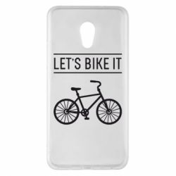 Чехол для Meizu Pro 6 Plus Let's Bike It - FatLine