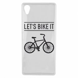 Чехол для Sony Xperia X Let's Bike It - FatLine