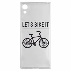 Чехол для Sony Xperia XA1 Let's Bike It - FatLine