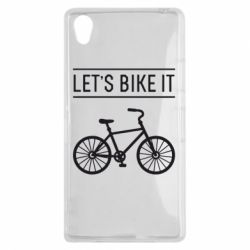 Чехол для Sony Xperia Z1 Let's Bike It - FatLine