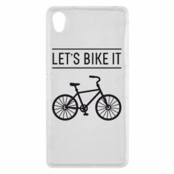 Чехол для Sony Xperia Z2 Let's Bike It - FatLine
