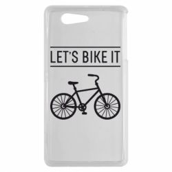 Чехол для Sony Xperia Z3 mini Let's Bike It - FatLine