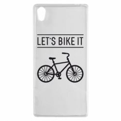 Чехол для Sony Xperia Z5 Let's Bike It - FatLine