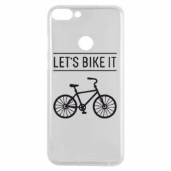 Чехол для Huawei P Smart Let's Bike It - FatLine
