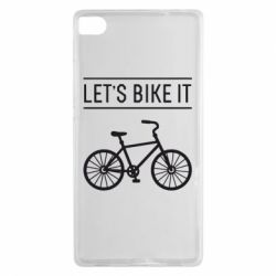 Чехол для Huawei P8 Let's Bike It - FatLine