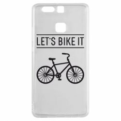 Чехол для Huawei P9 Let's Bike It - FatLine