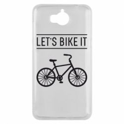 Чехол для Huawei Y5 2017 Let's Bike It - FatLine