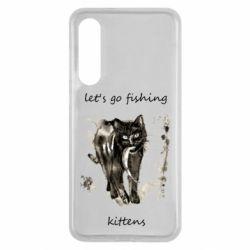 Чехол для Xiaomi Mi9 SE Let's go fishing  kittens