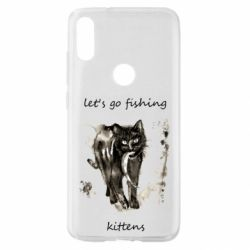Чехол для Xiaomi Mi Play Let's go fishing  kittens