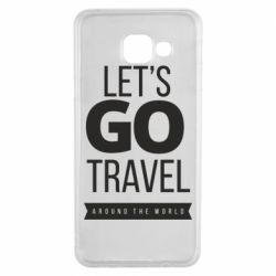 Чохол для Samsung A3 2016 Let's go travel around the world