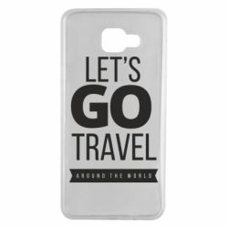 Чохол для Samsung A7 2016 Let's go travel around the world
