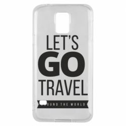Чохол для Samsung S5 Let's go travel around the world