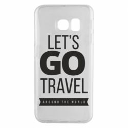Чохол для Samsung S6 EDGE Let's go travel around the world