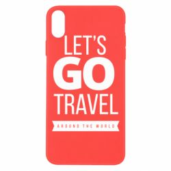 Чохол для iPhone Xs Max Let's go travel around the world